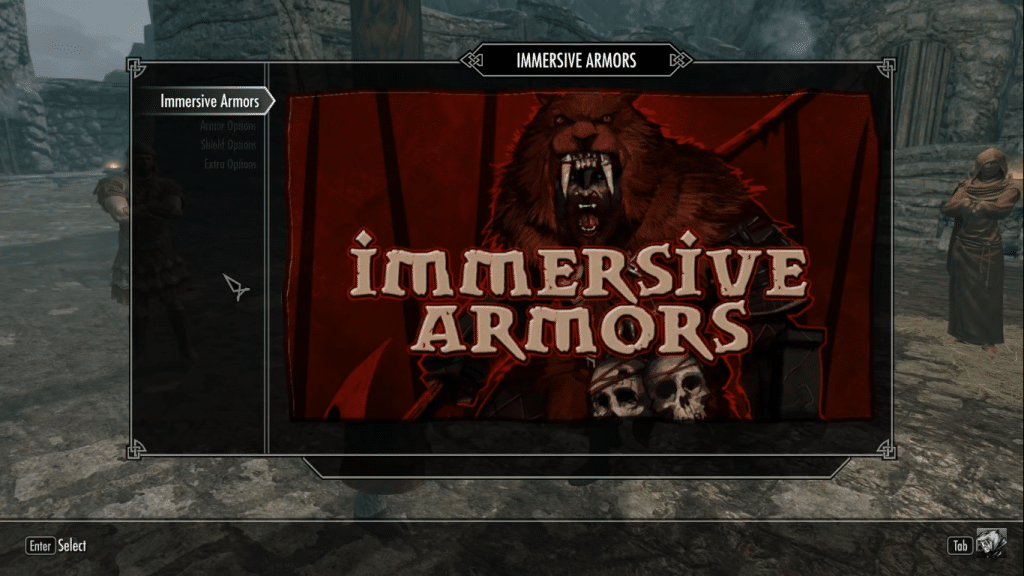 Immersive Armors - Skyrim armor mod