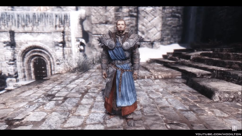 Stormlord Armor - Skyrim armor mod