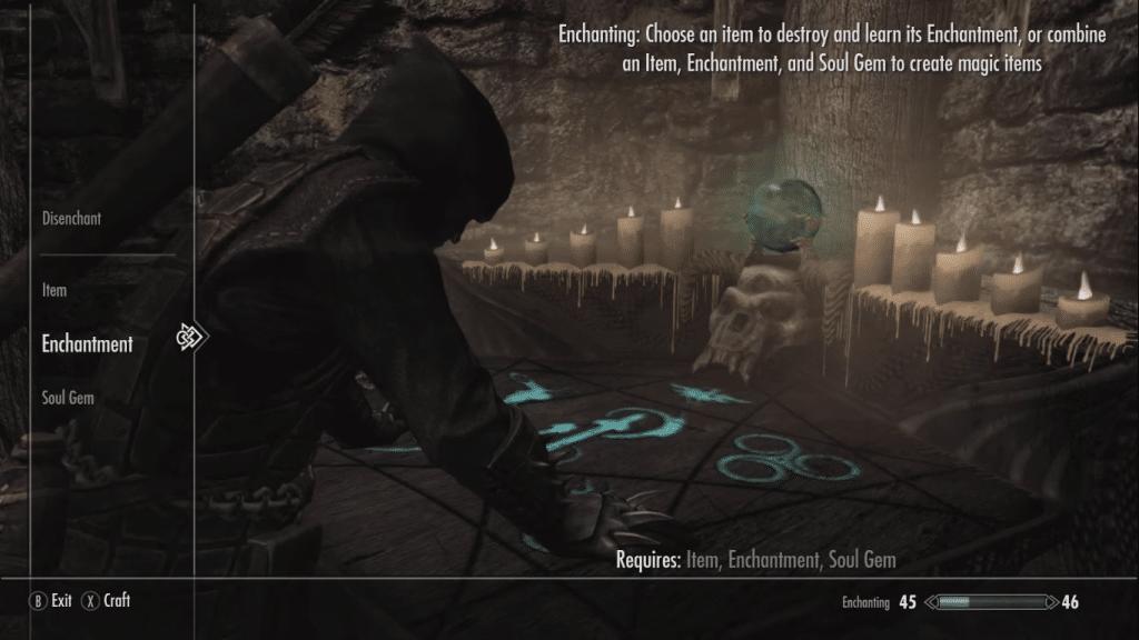 Skyrim Enchanting Mod PS4